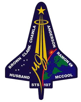 Space Shuttle Columbia stats and info